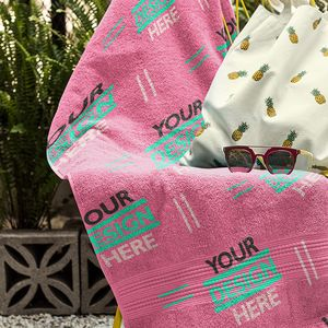 Custom Beach Towel Thumbnail